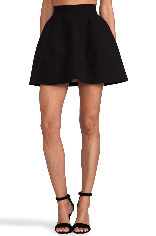 AQ/AQ Shade Mini Skirt in Black