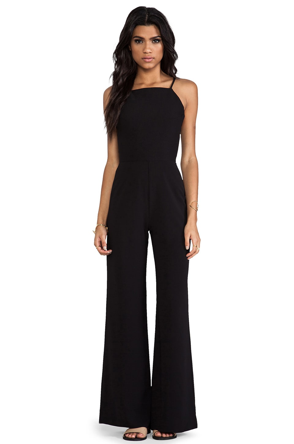 AQ/AQ Divine Jumpsuit in Black