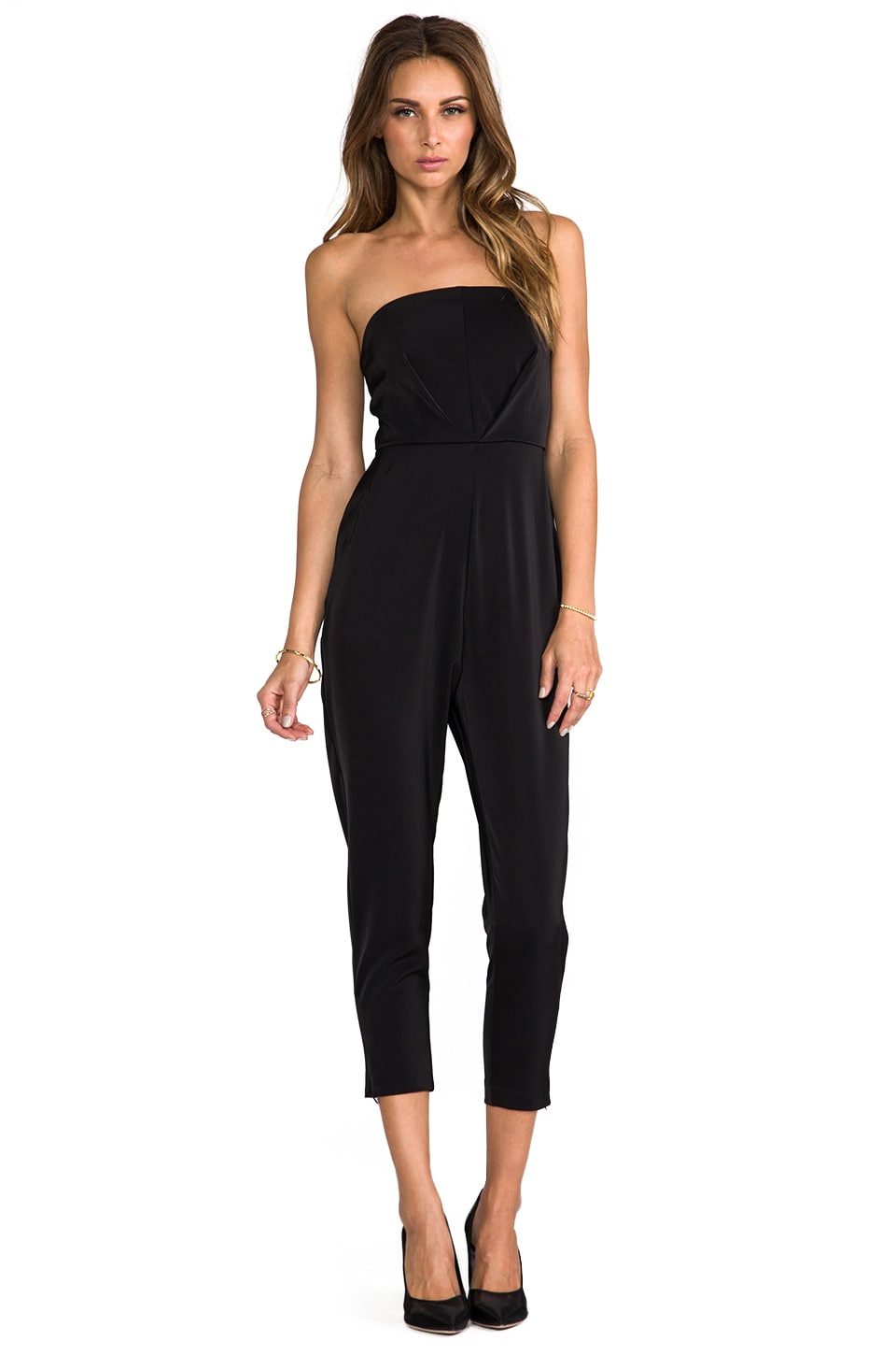 AQ/AQ Vanity Jumpsuit in Black