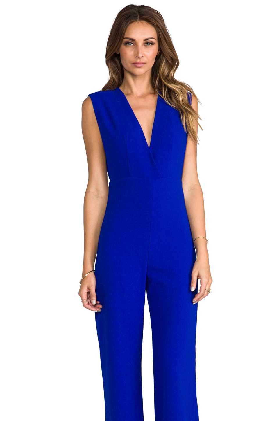 AQ/AQ Phoebe Jumpsuit in Olympian Blue