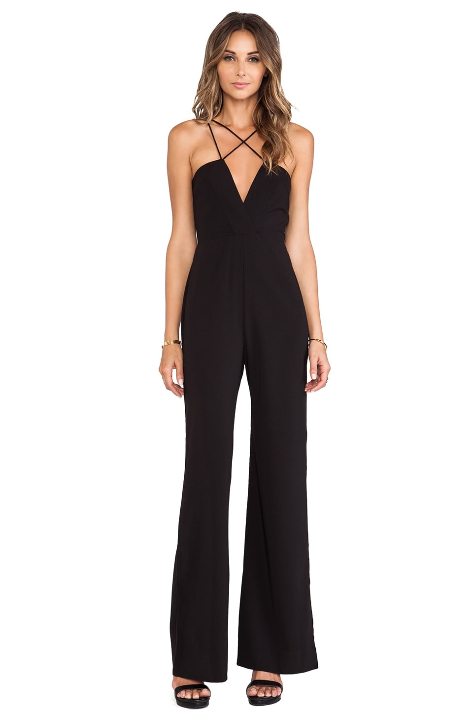 AQ/AQ Sane Jumpsuit in Black