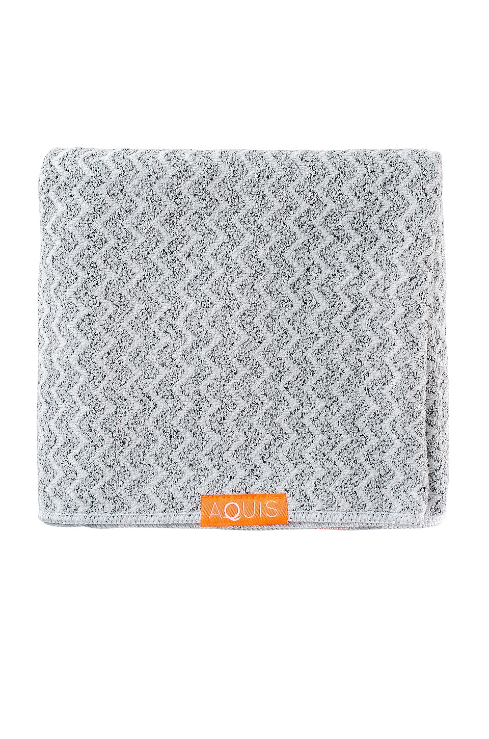 Chevron Weave Hair Towel