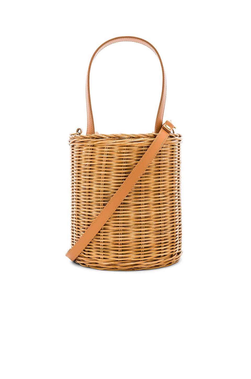 Aranaz Jean Bucket Bag in Natural