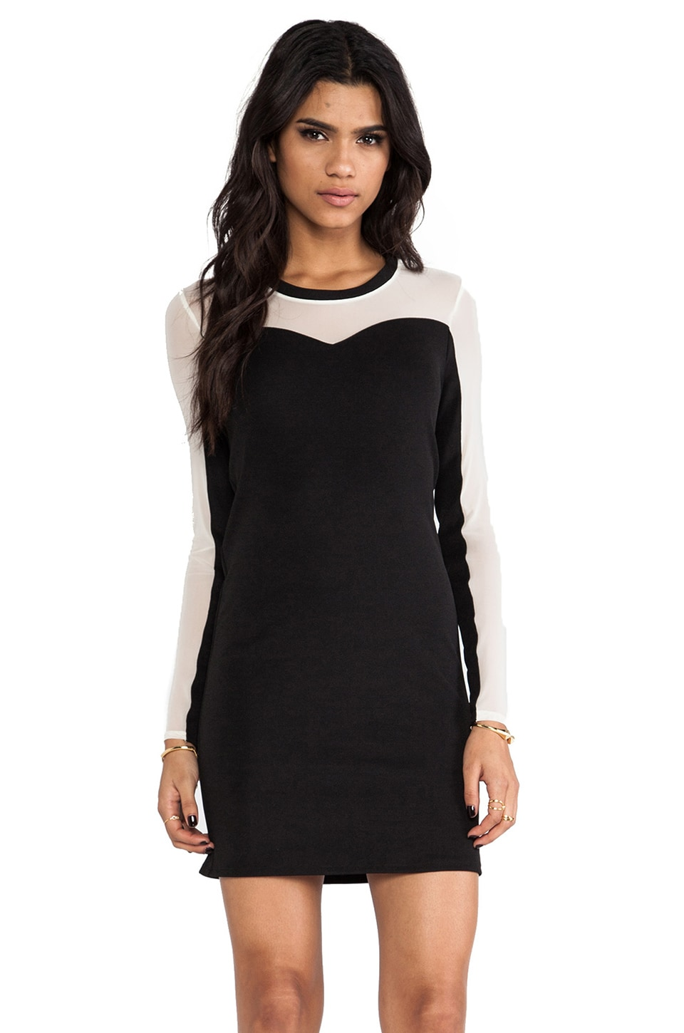 American Retro Marly Dress in Black