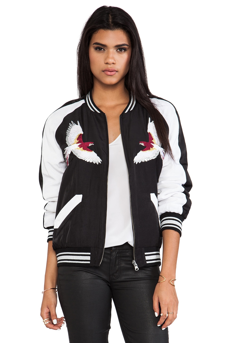 American Retro Mary Jacket in Black