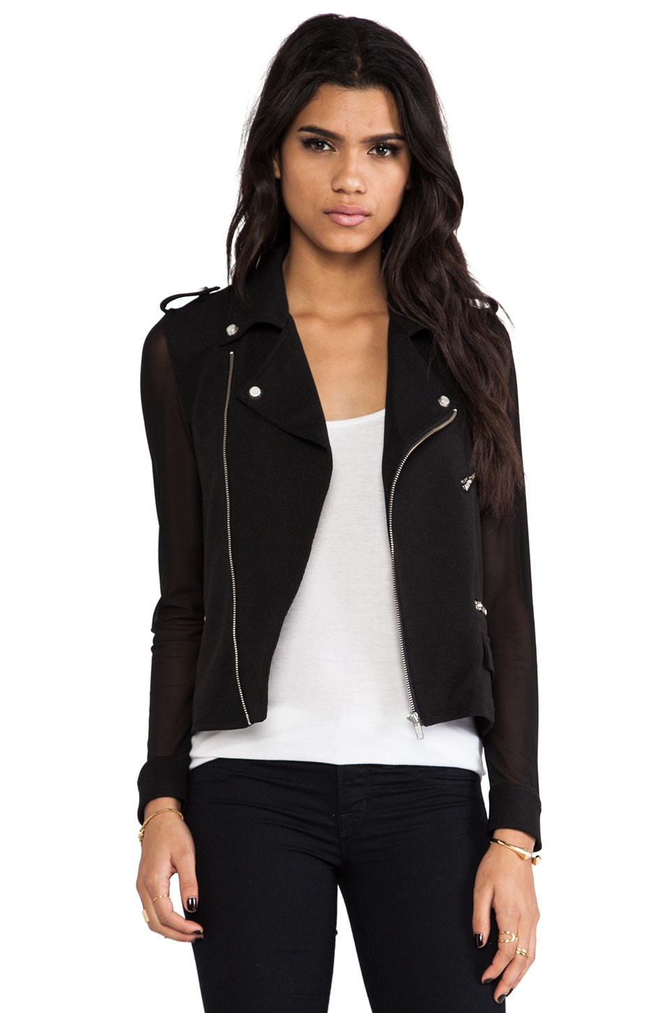 American Retro Marly Jacket in Black