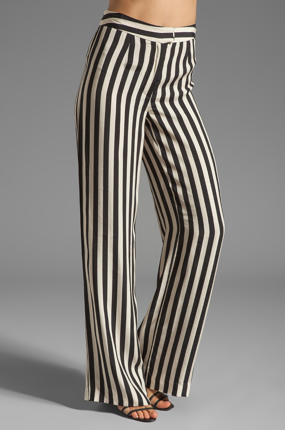 American Retro Peny Pants in Stripe