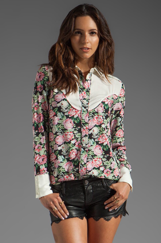 American Retro Suzy Shirt in Print Suzie