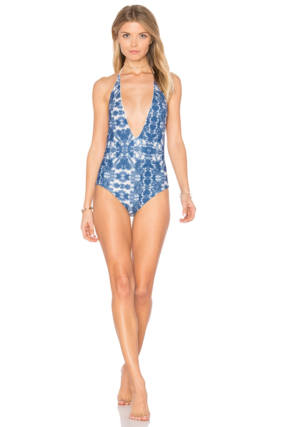 ARROW & EVE Skylar Reversible One Piece in Naked Ocean & Naked