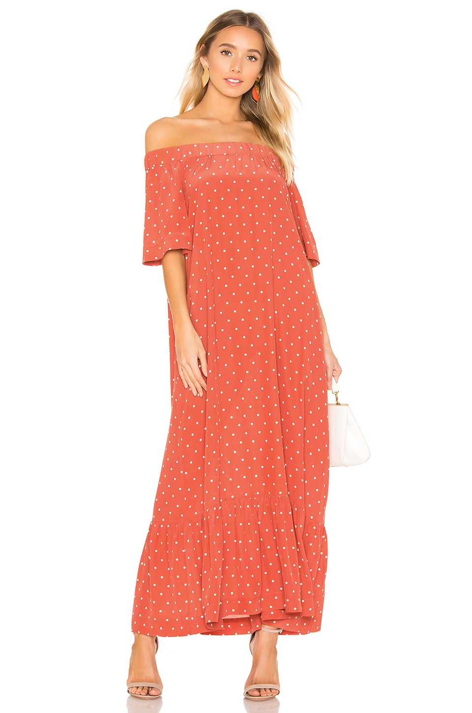 ASCENO ROBE OFF SHOULDER