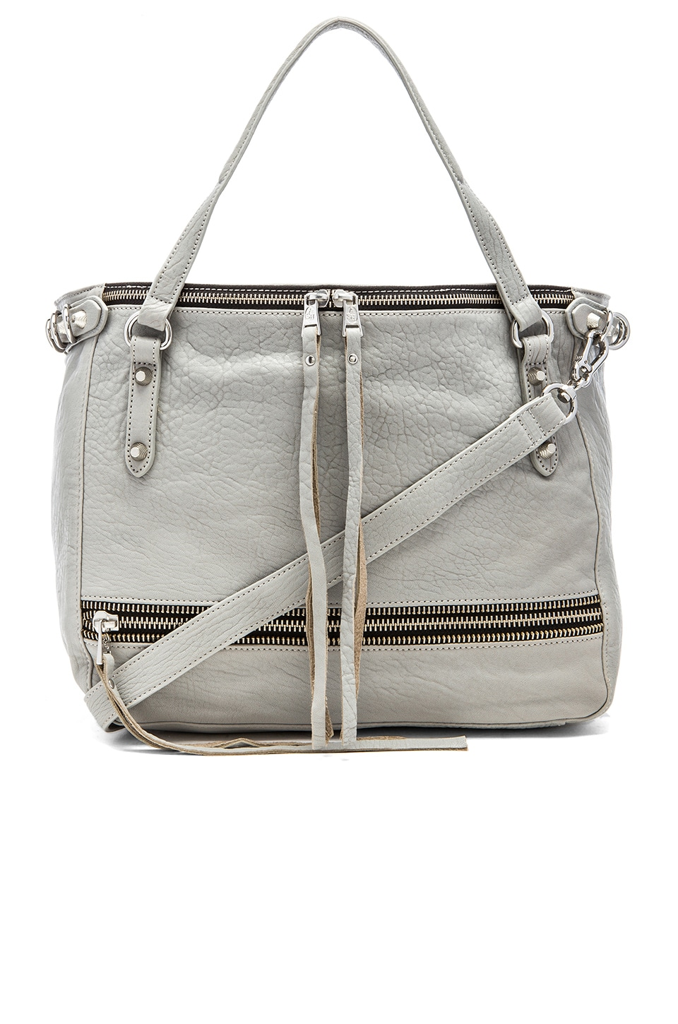 Ash Ace Tote Bag In Stone Grey