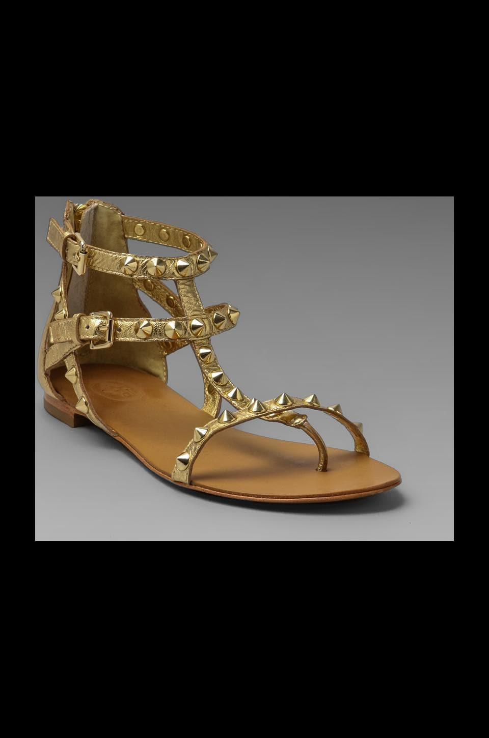 Ash Malibu Sandal in Gold