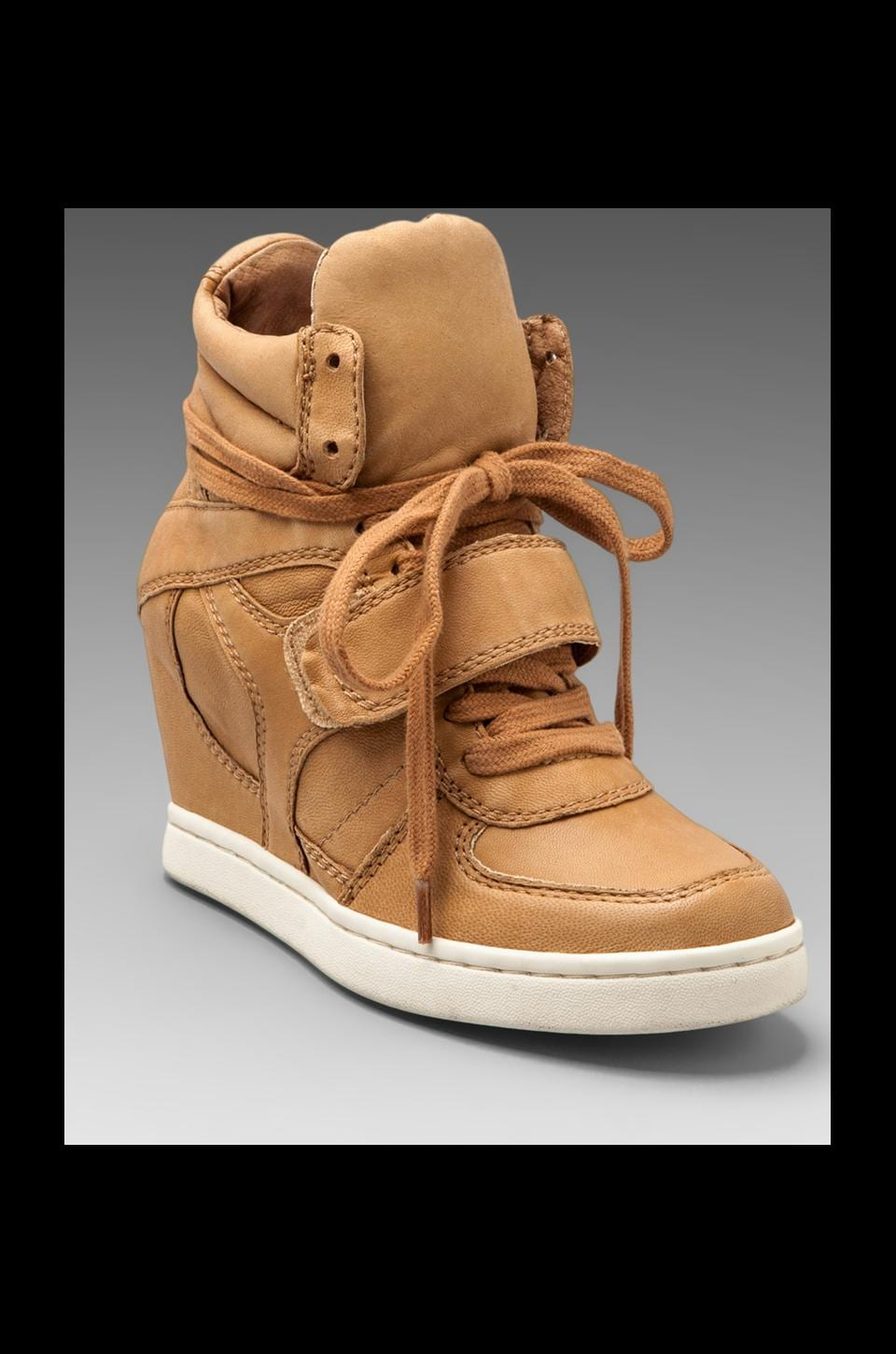 Ash Cool Ter Wedge Sneaker in Nude