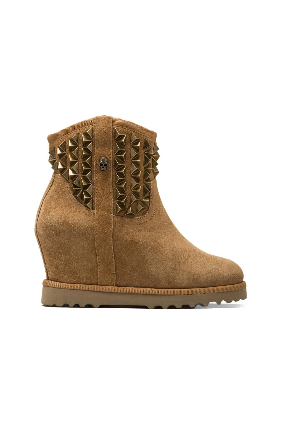 Ash Yoko Bootie in Light Camel