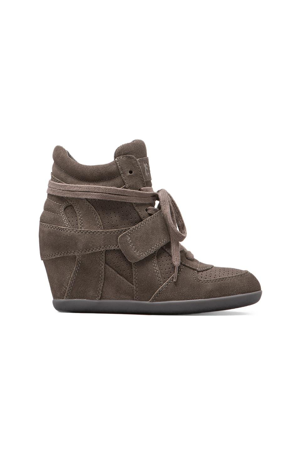 Ash Bowie Wedge Sneaker in Slate