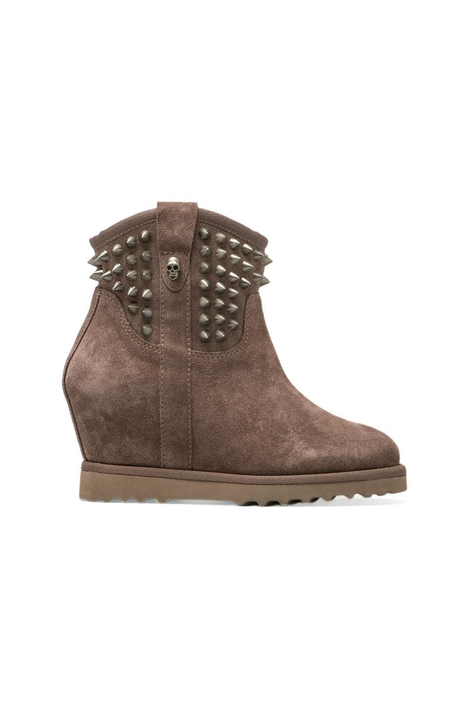 Ash Yahoo Boot in Taupe