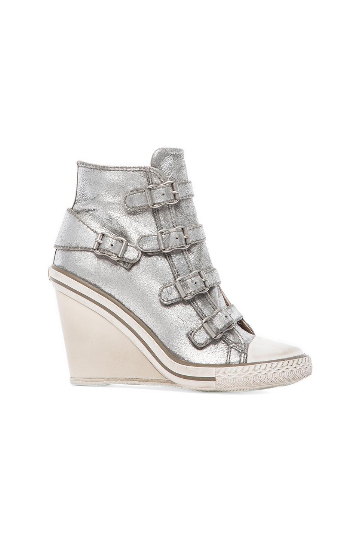 Ash Thelma Sneaker in Silver Gun