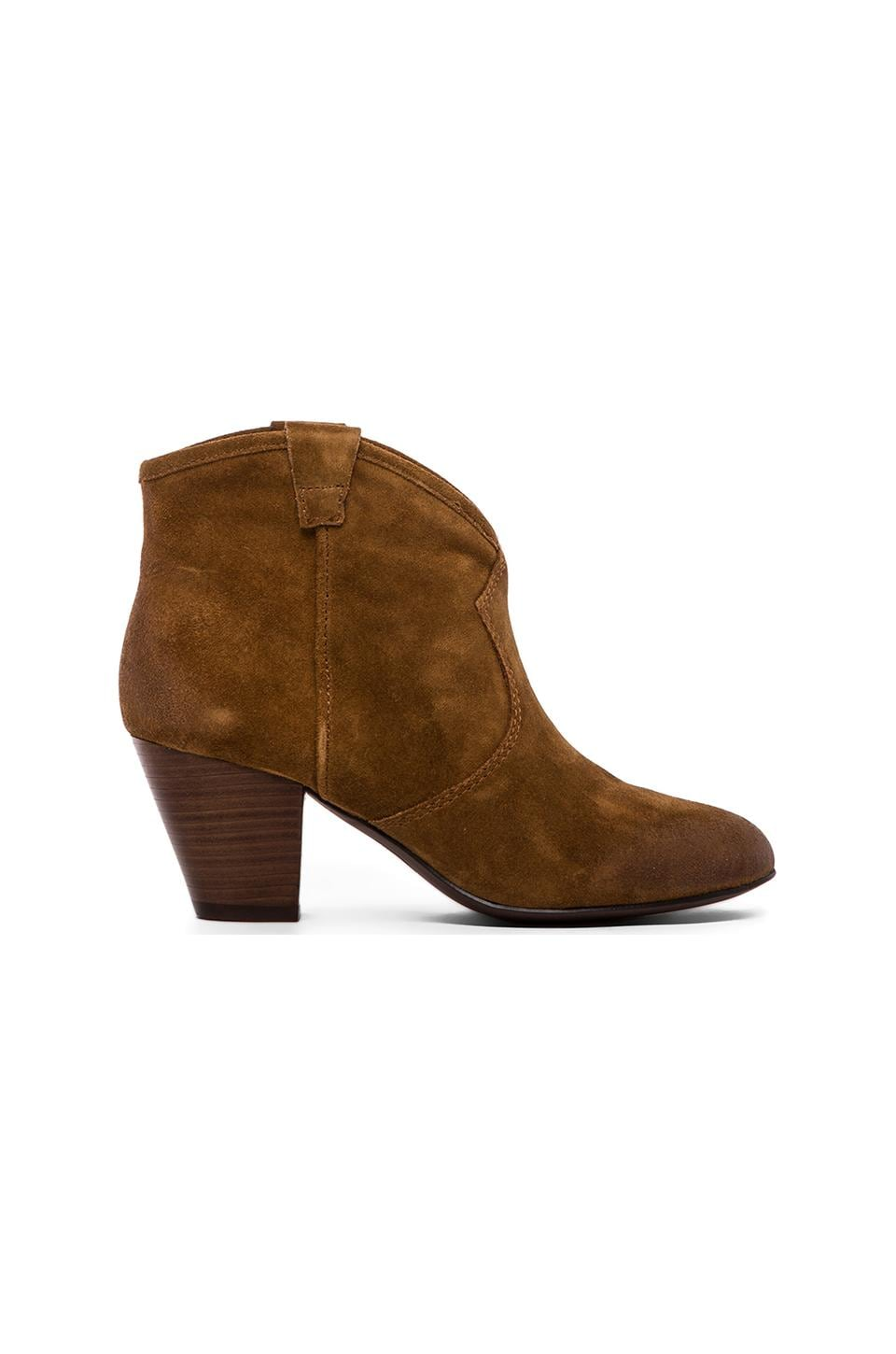 Ash Jalouse Bootie in Cookie