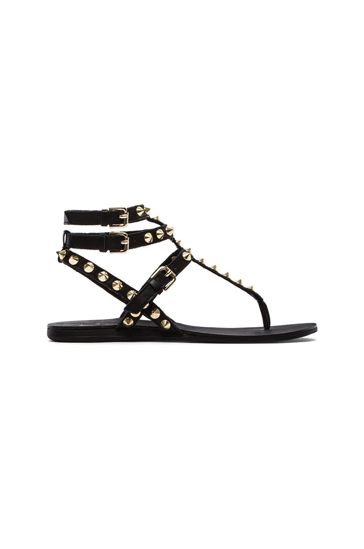 Ash Oasis Sandals in Black