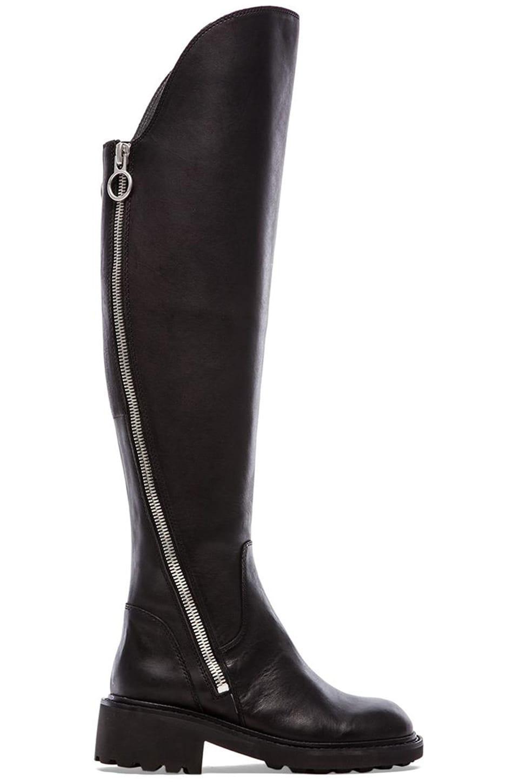 Ash Seven Boot in Black