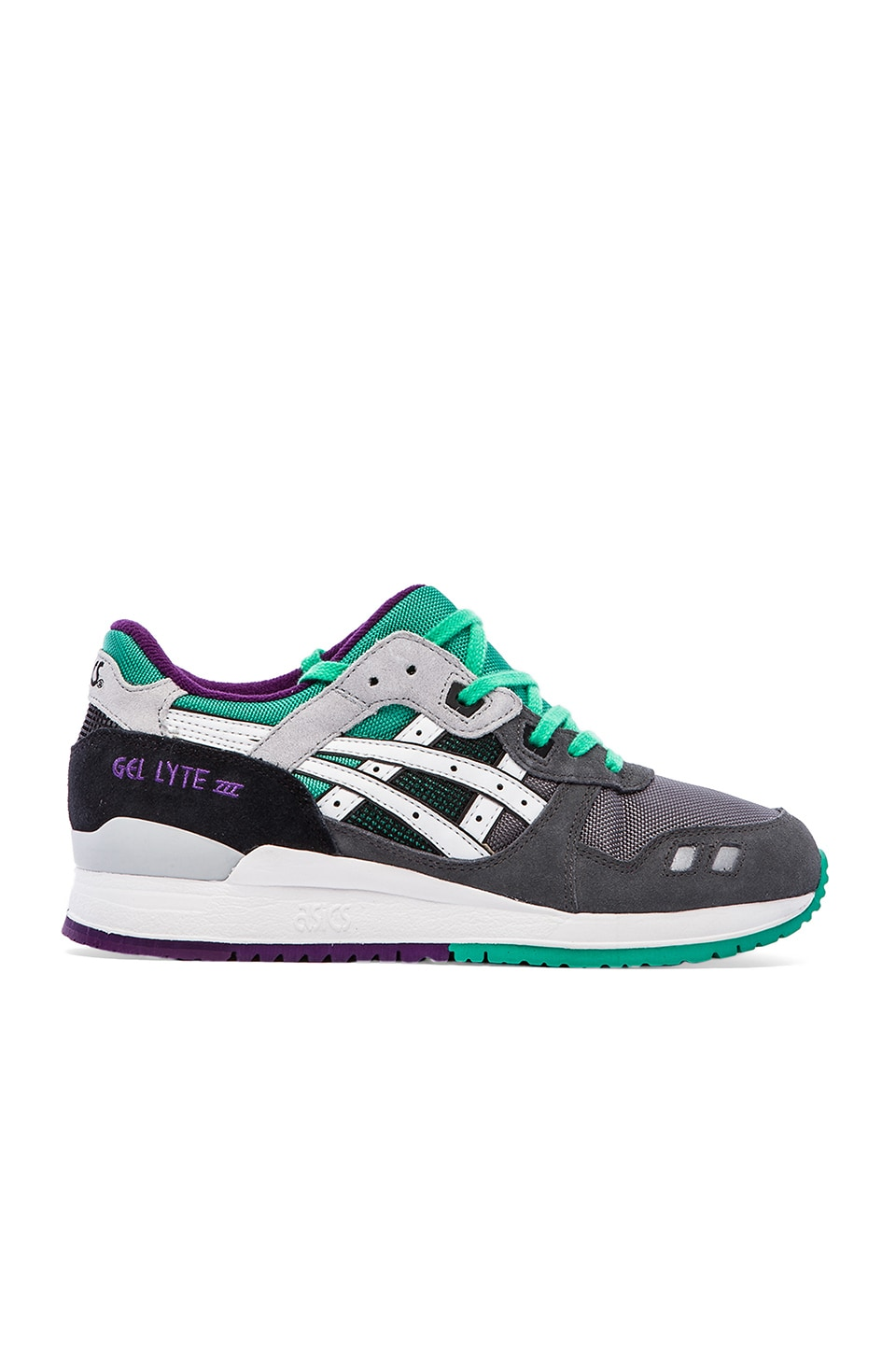 Asics Gel-Lyte III in Grey & White