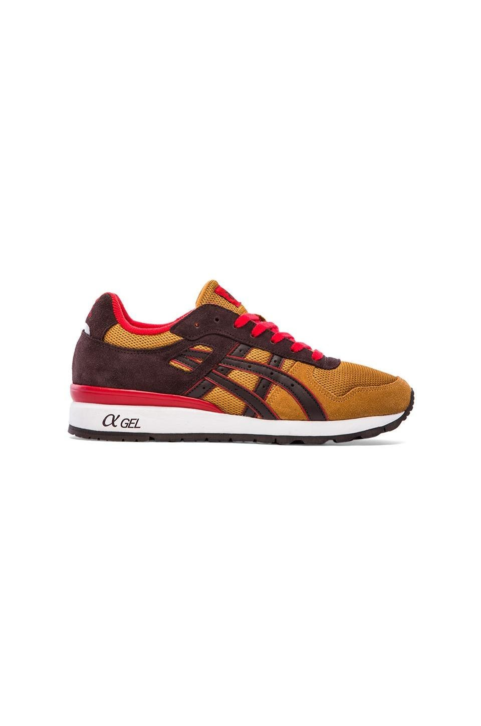Asics GT-II in Tan 7 Dark Brown