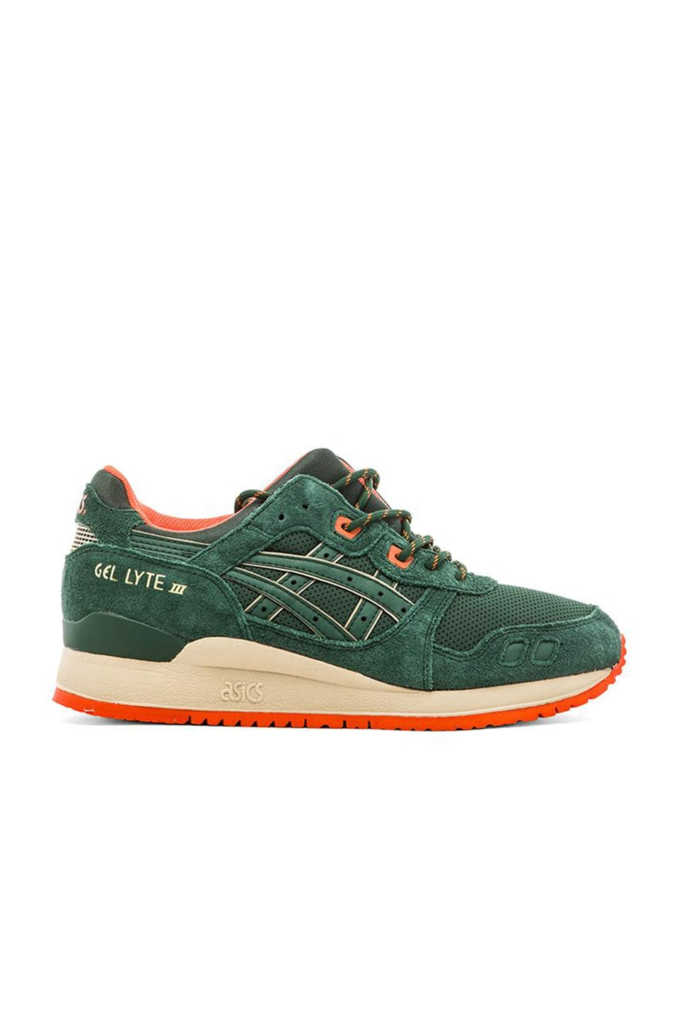 reputable site 8a043 8aabd Asics Gel Lyte lll in Dark Green Dark Green | REVOLVE