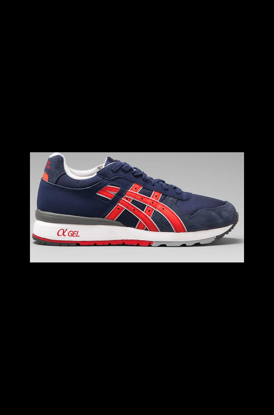 Asics GT II in Navy/Red