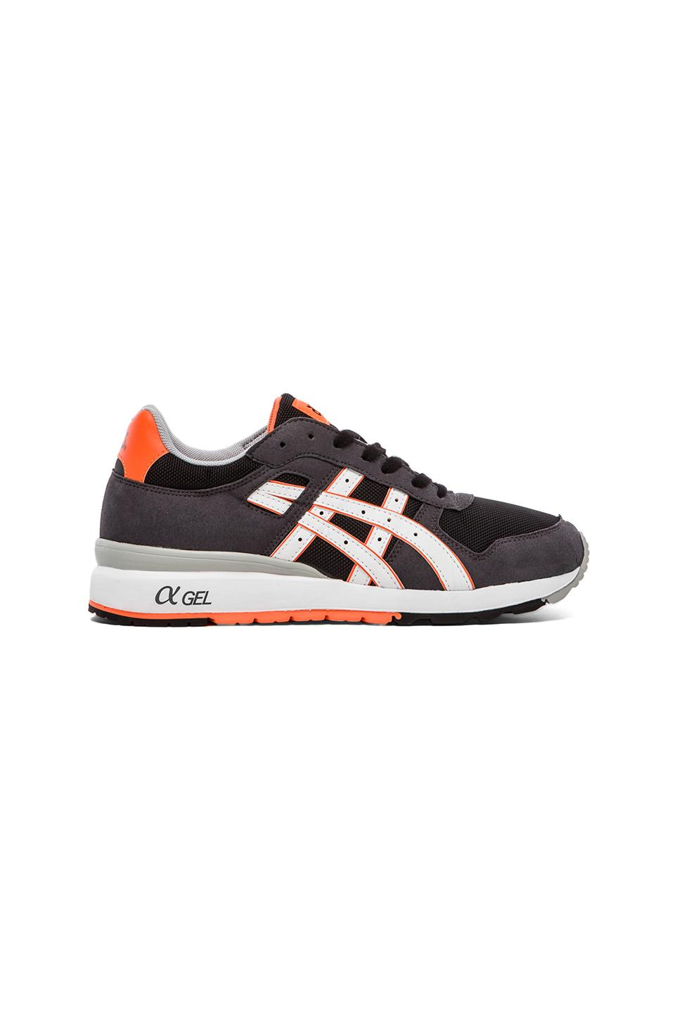 Asics GT-II in Black & Bright Orange