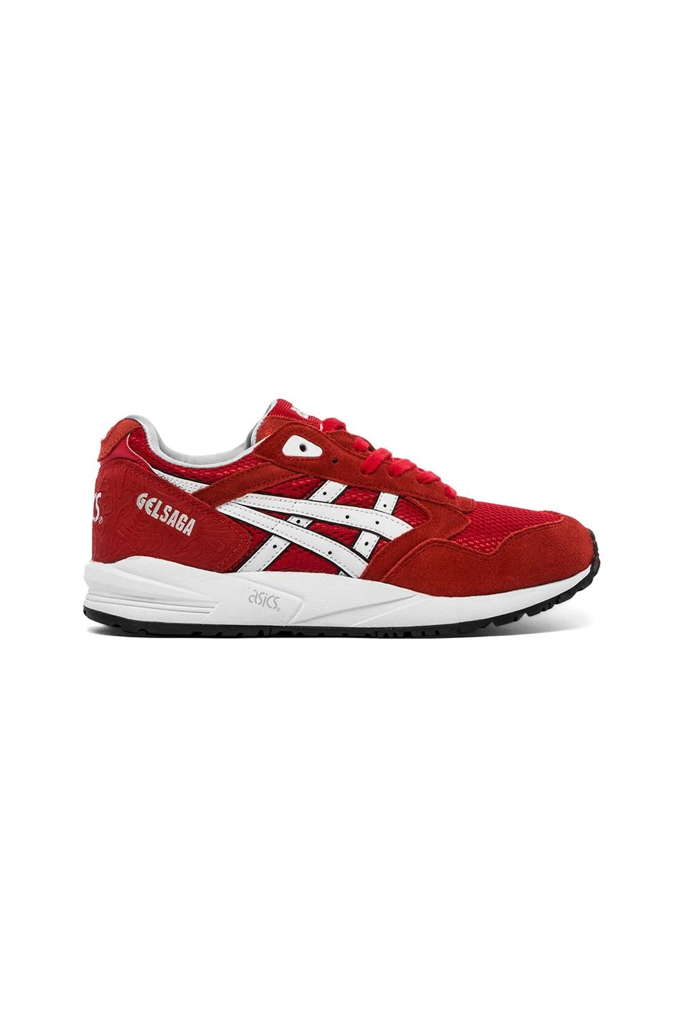 Asics Gel-Lyte III in Fairy Red & White