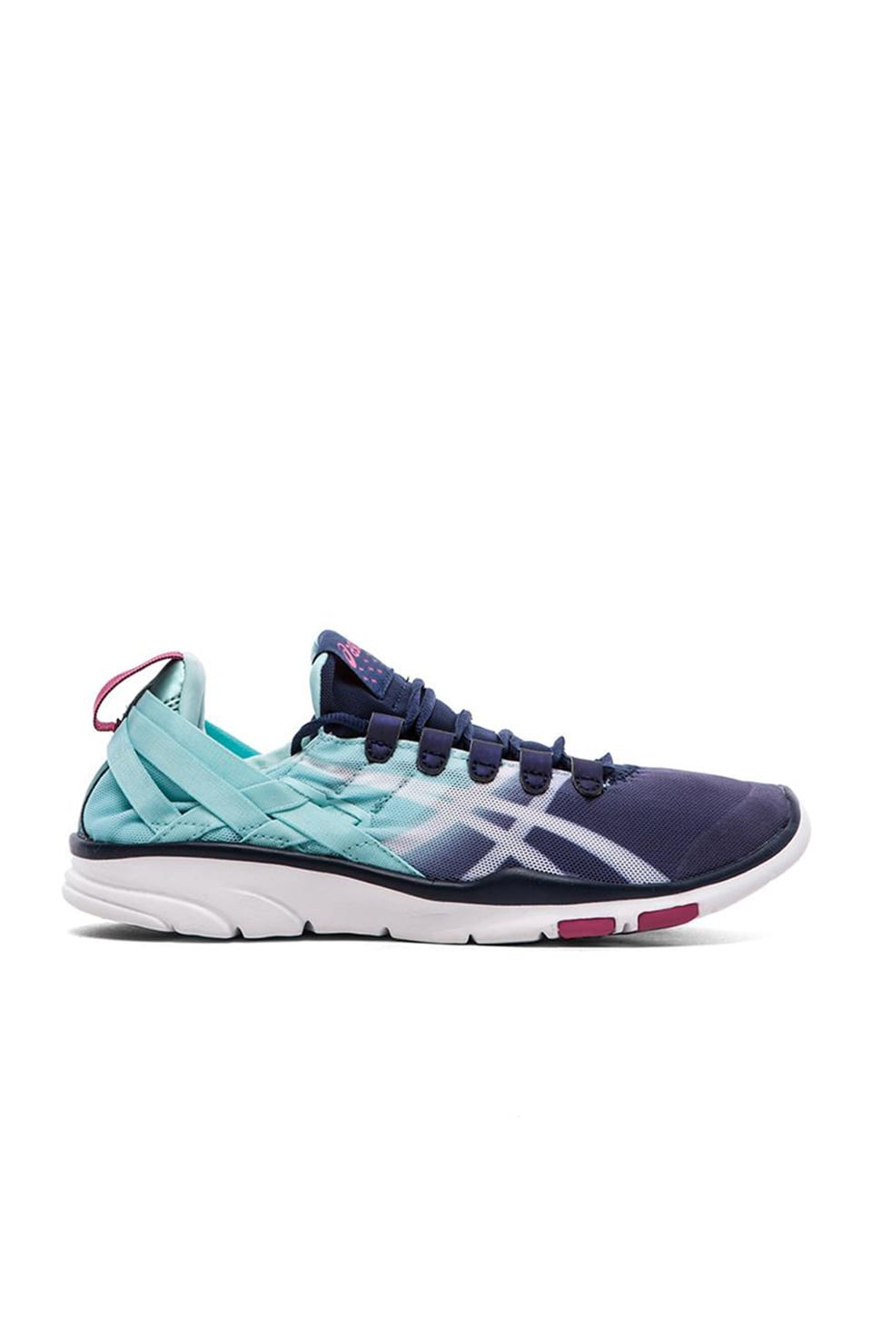 Asics Gel-Fit Sana Sneaker in Navy Mint
