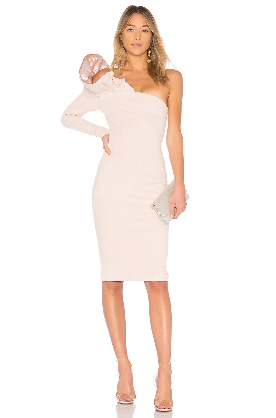 ASILIO First Heart Dress in Dusty Pink