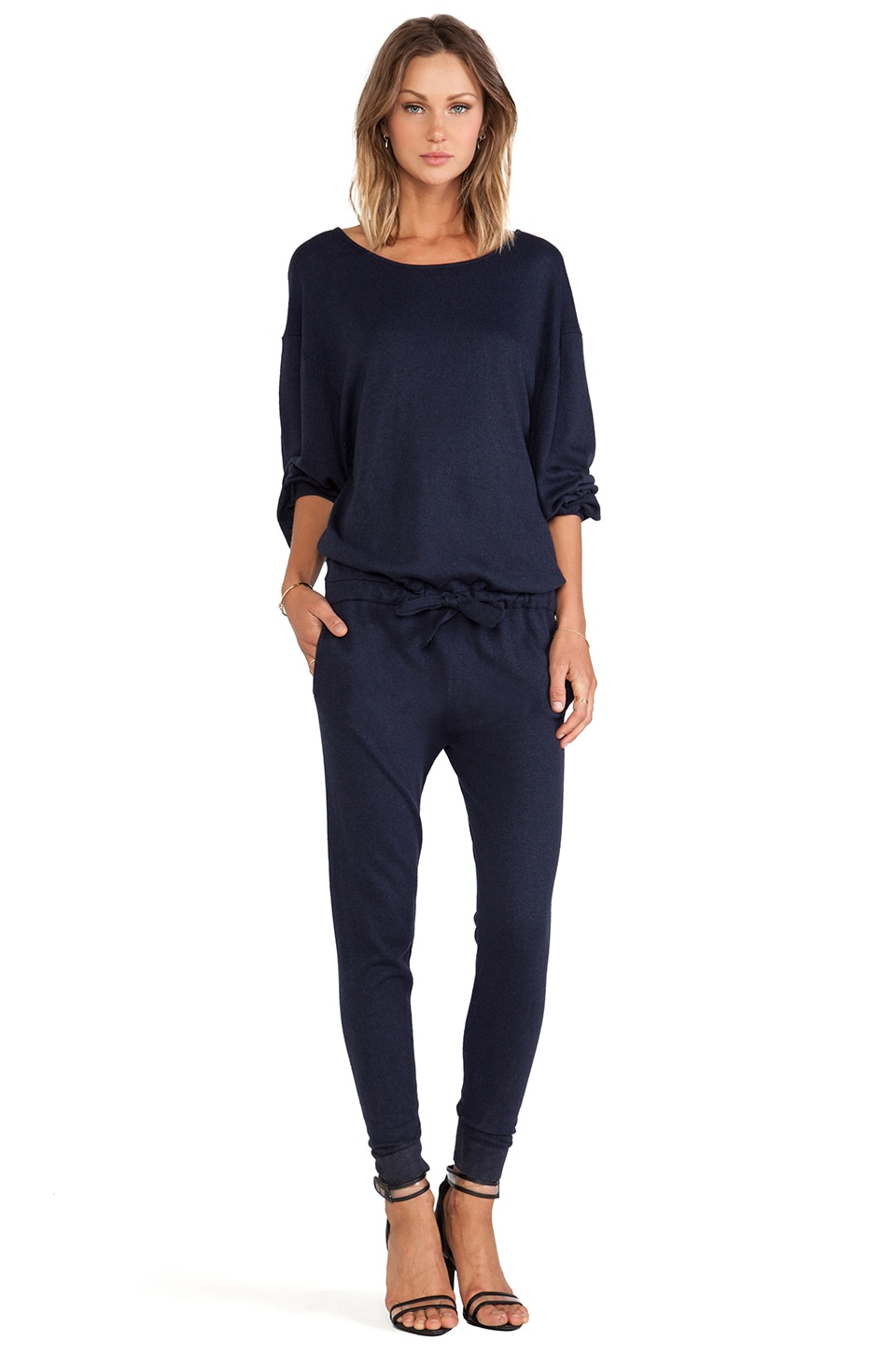 ASILIO One Is Enough Onesie in Navy