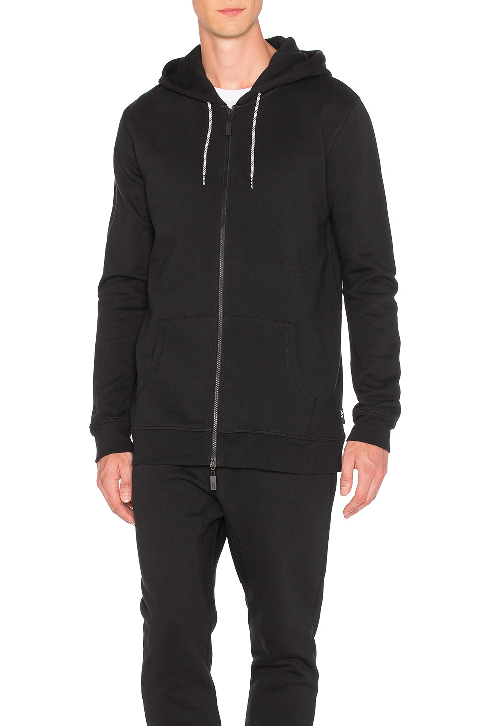 Classic Zip Up Hoodie by Asics Platinum