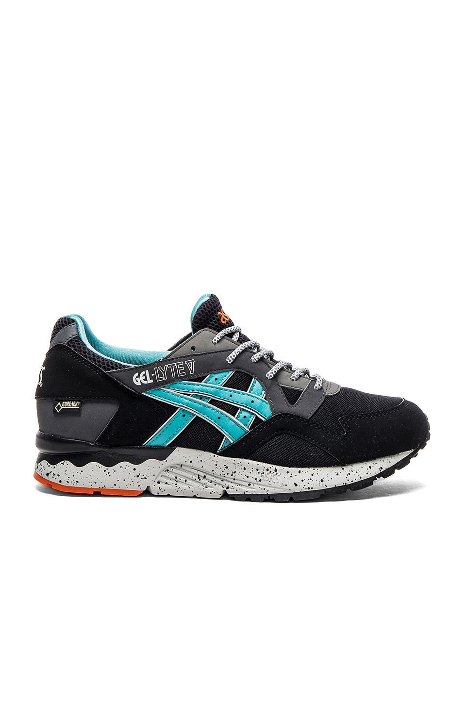 Asics Platinum Gel Lyte V in Black Latigo Bay