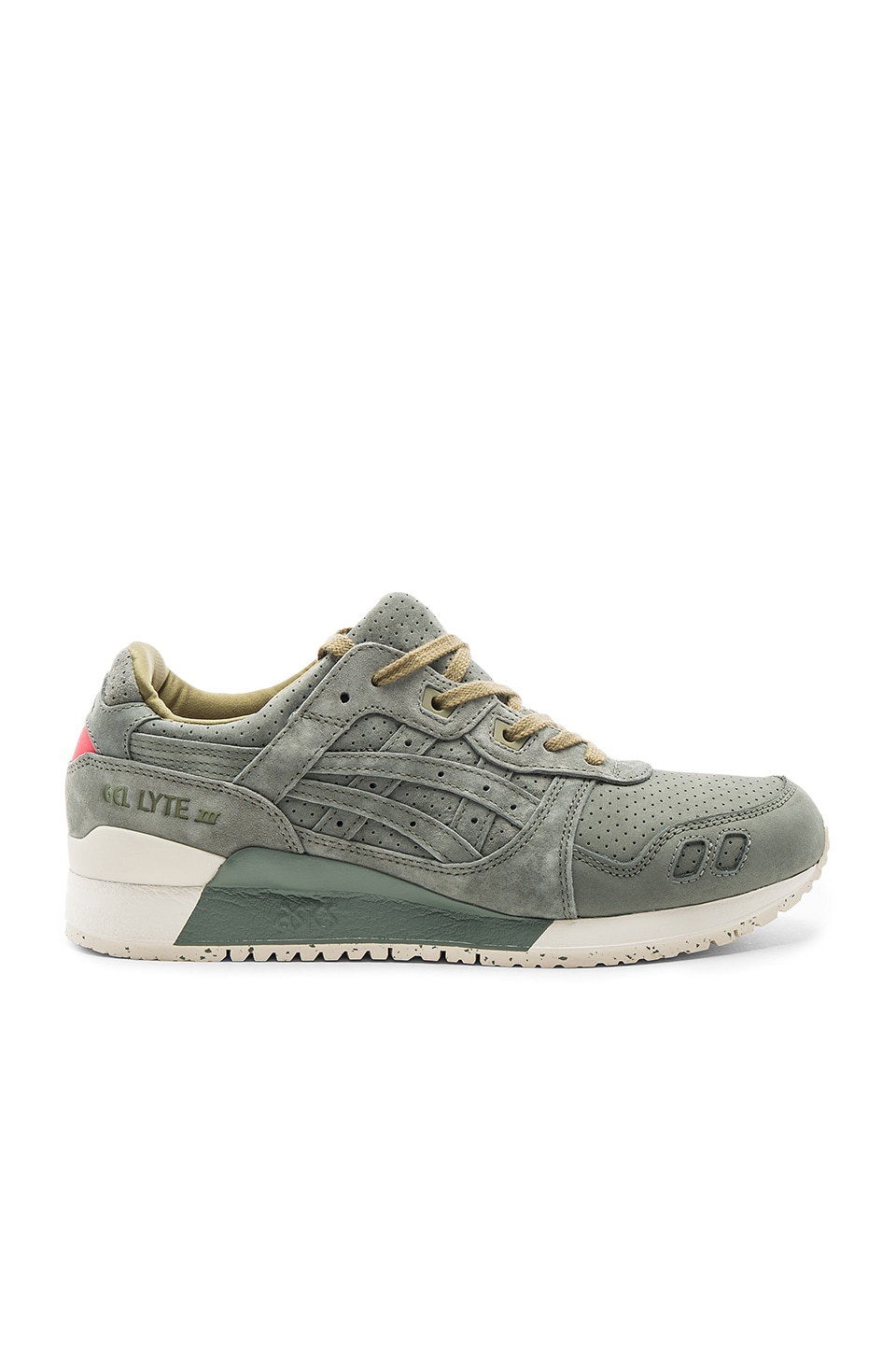 Asics Platinum Gel Lyte III in Agave Green & Agave Green