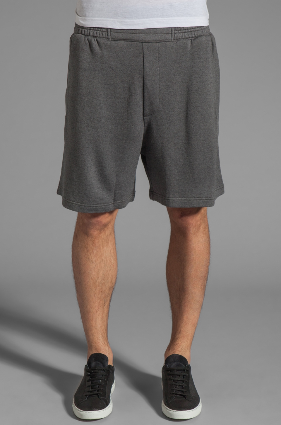 adidas SLVR Lux Short in Dark Grey Heather