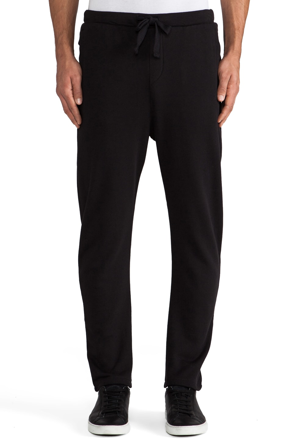 adidas SLVR Wide FT Pant in Black