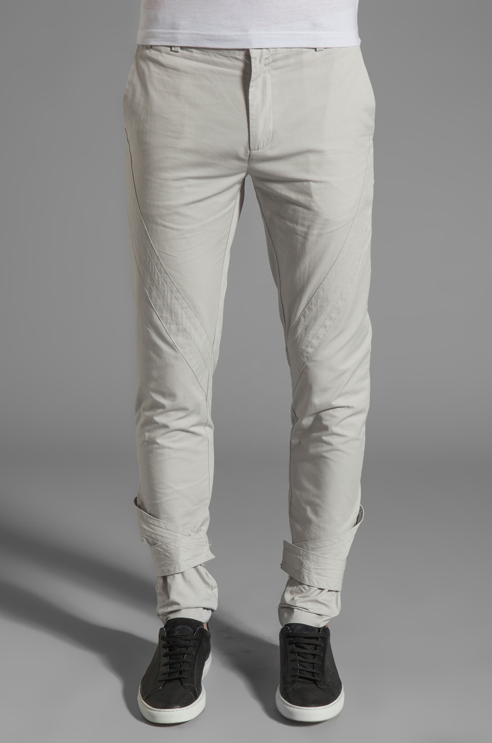 adidas SLVR Cavalry Pant in Light Grey