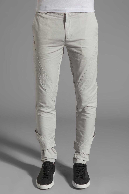 adidas SLVR Cavalry Pant in Light Grey