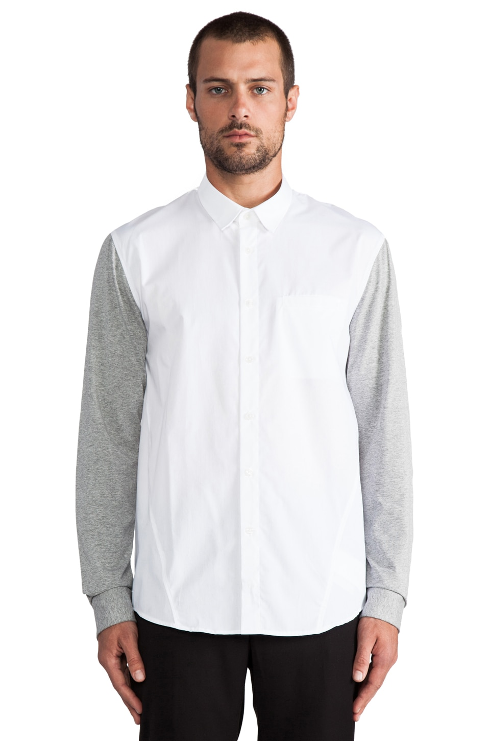 adidas SLVR Jersey Shirt in White