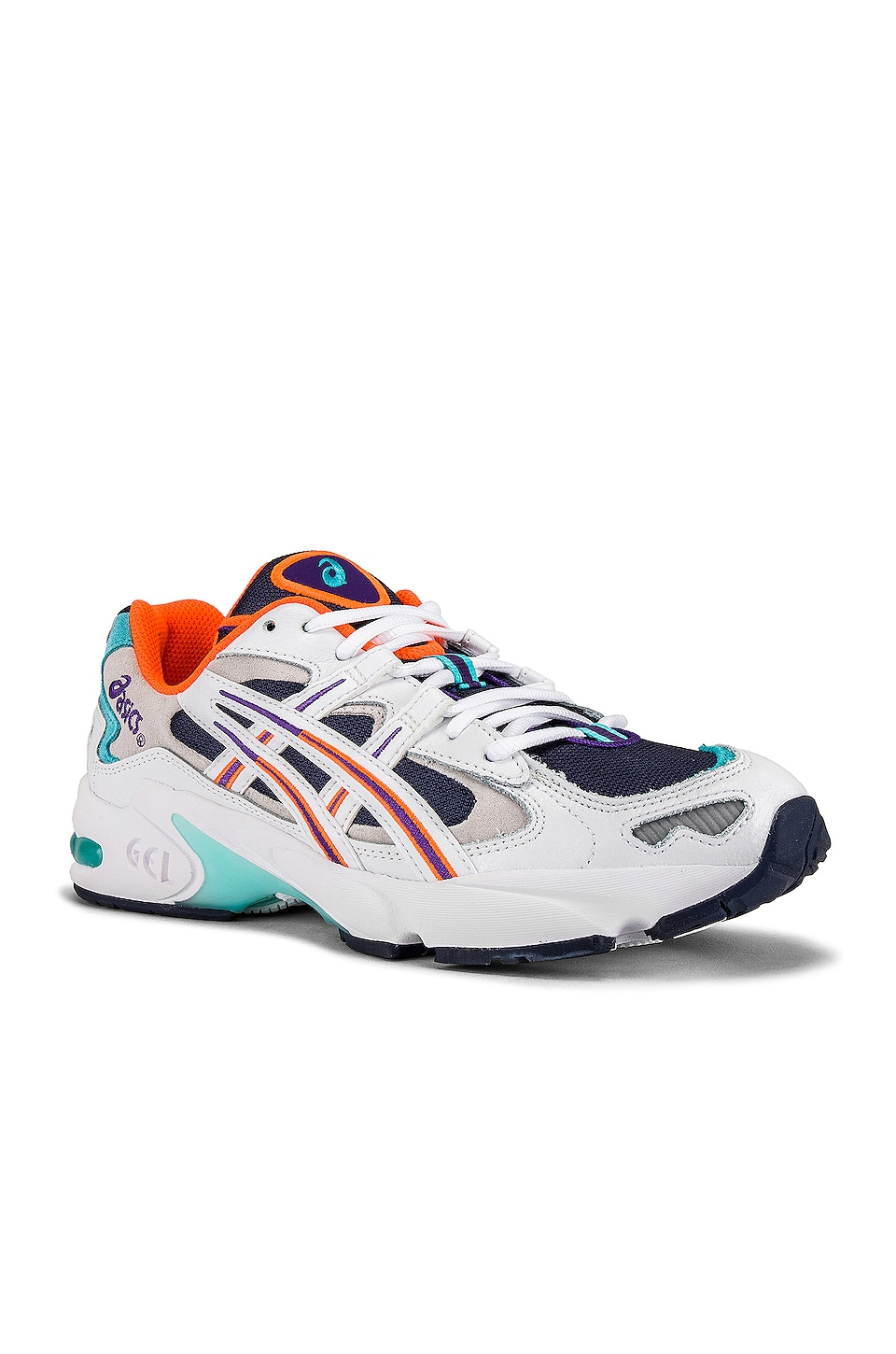 Asics Platinum Kayano 5 OG in Midnight & White