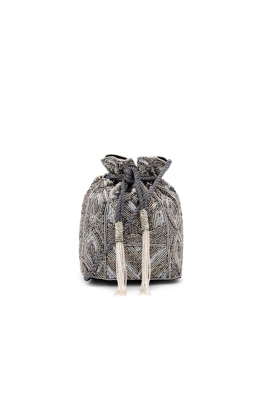 ASPIGA Pouch Bag in Silver