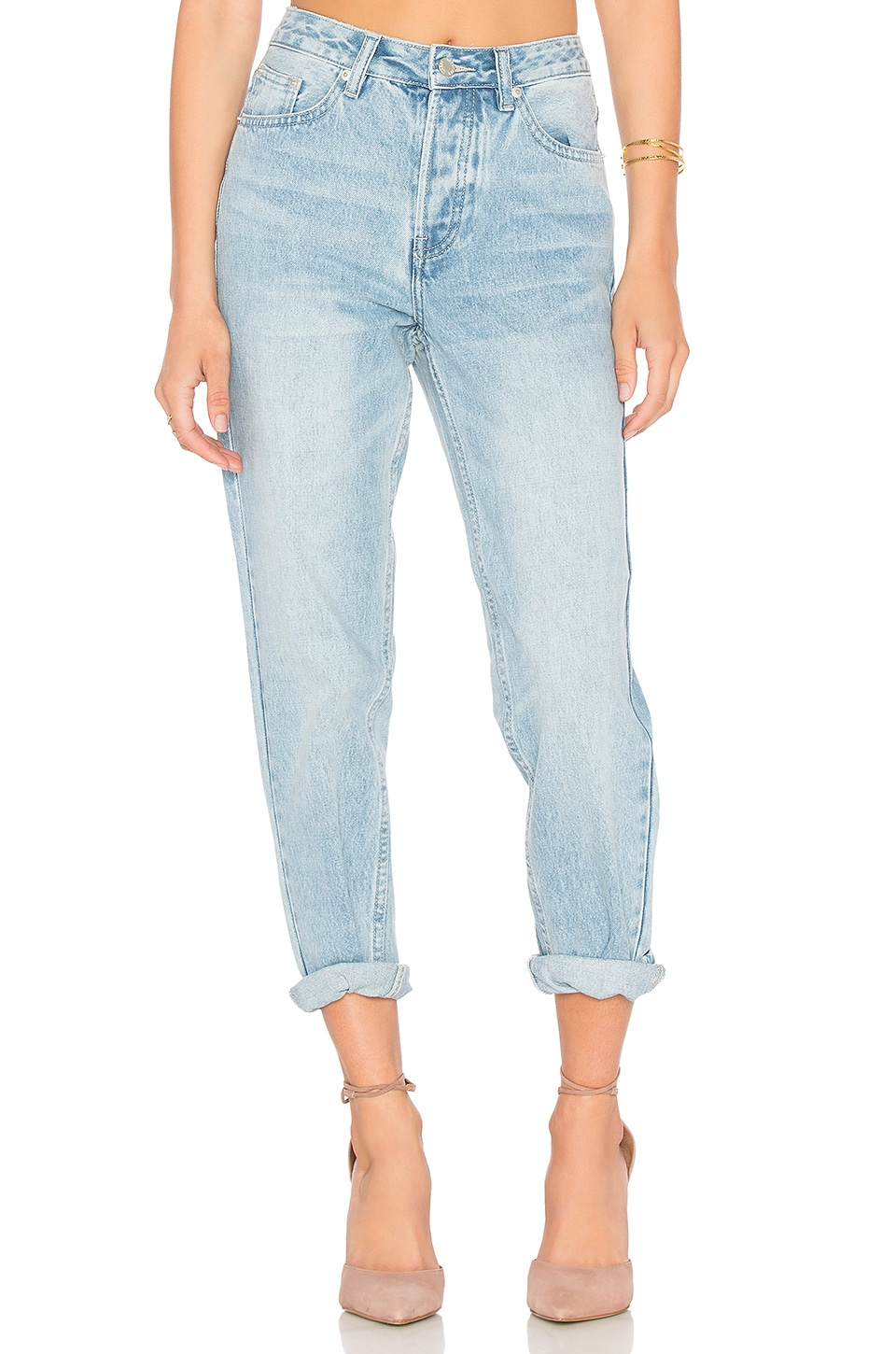 Assembly Label High Waist Jeans in Vintage Wash