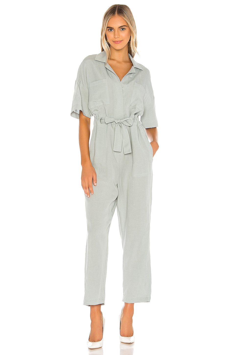 ASTR the Label Miri Jumpsuit in Mint