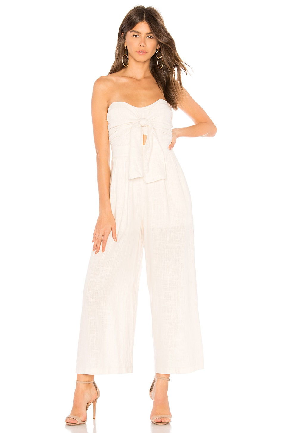 ASTR the Label Mara Jumpsuit in Natural