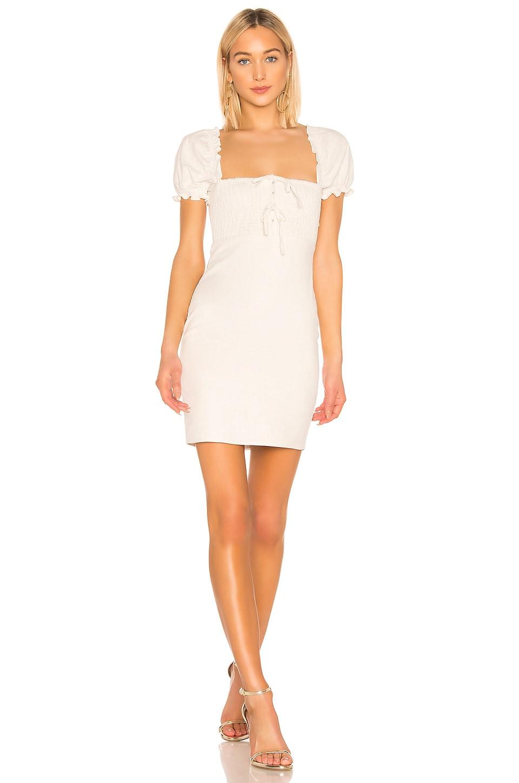 ASTR the Label Nina Dress in Off White