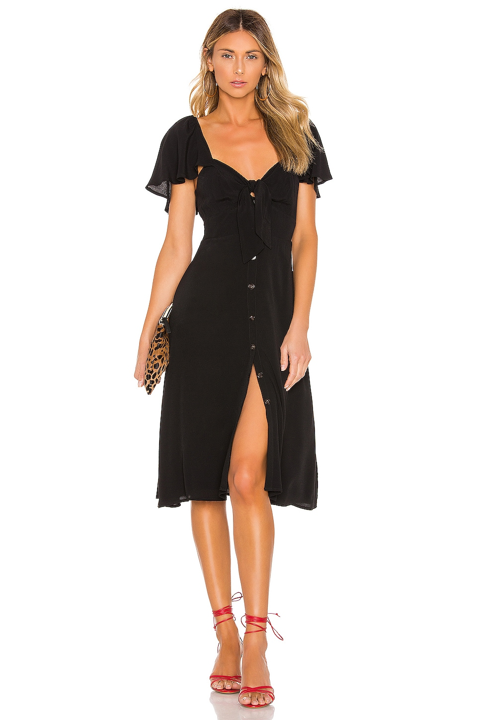 ASTR the Label Rachelle Dress in Black