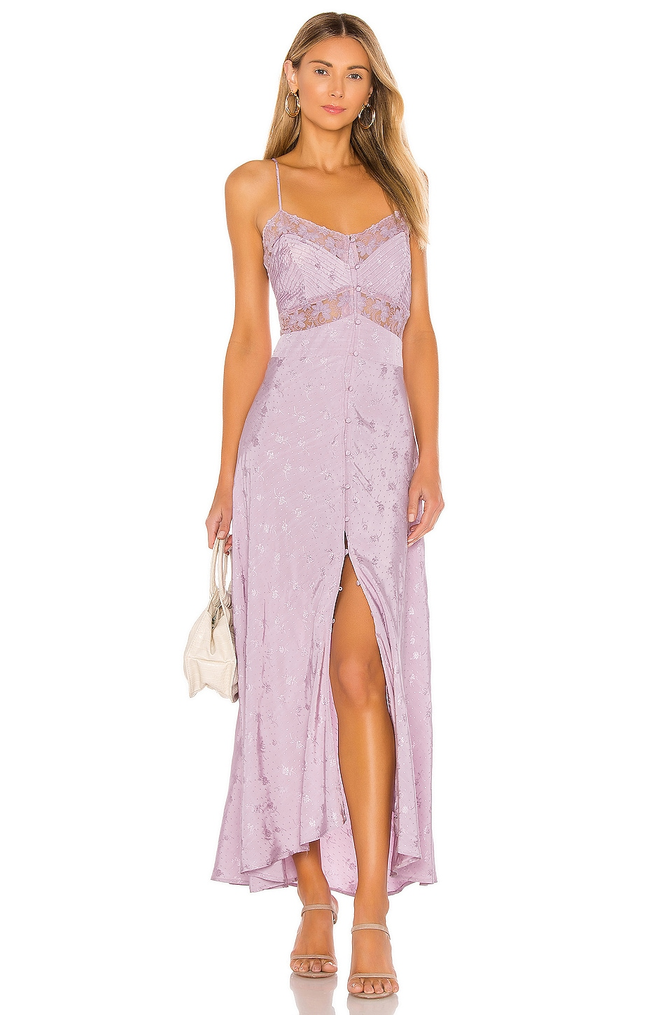 ASTR the Label Dream Catcher Dress in Lilac