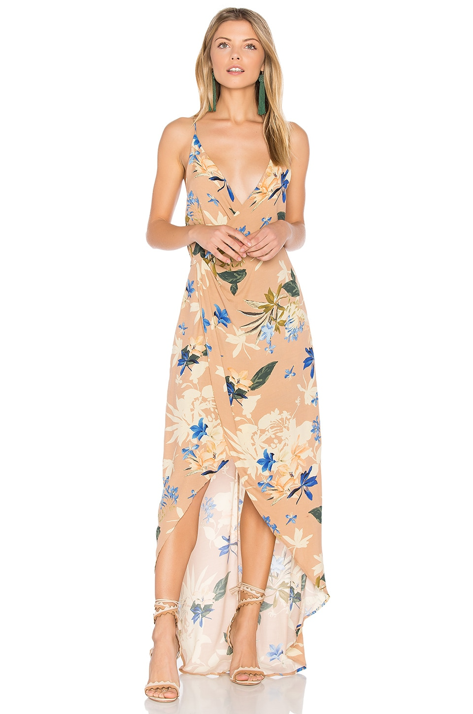 ASTR Penelope Dress in Paradise Floral